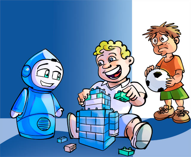 Will robot playmates become our children's only friends?